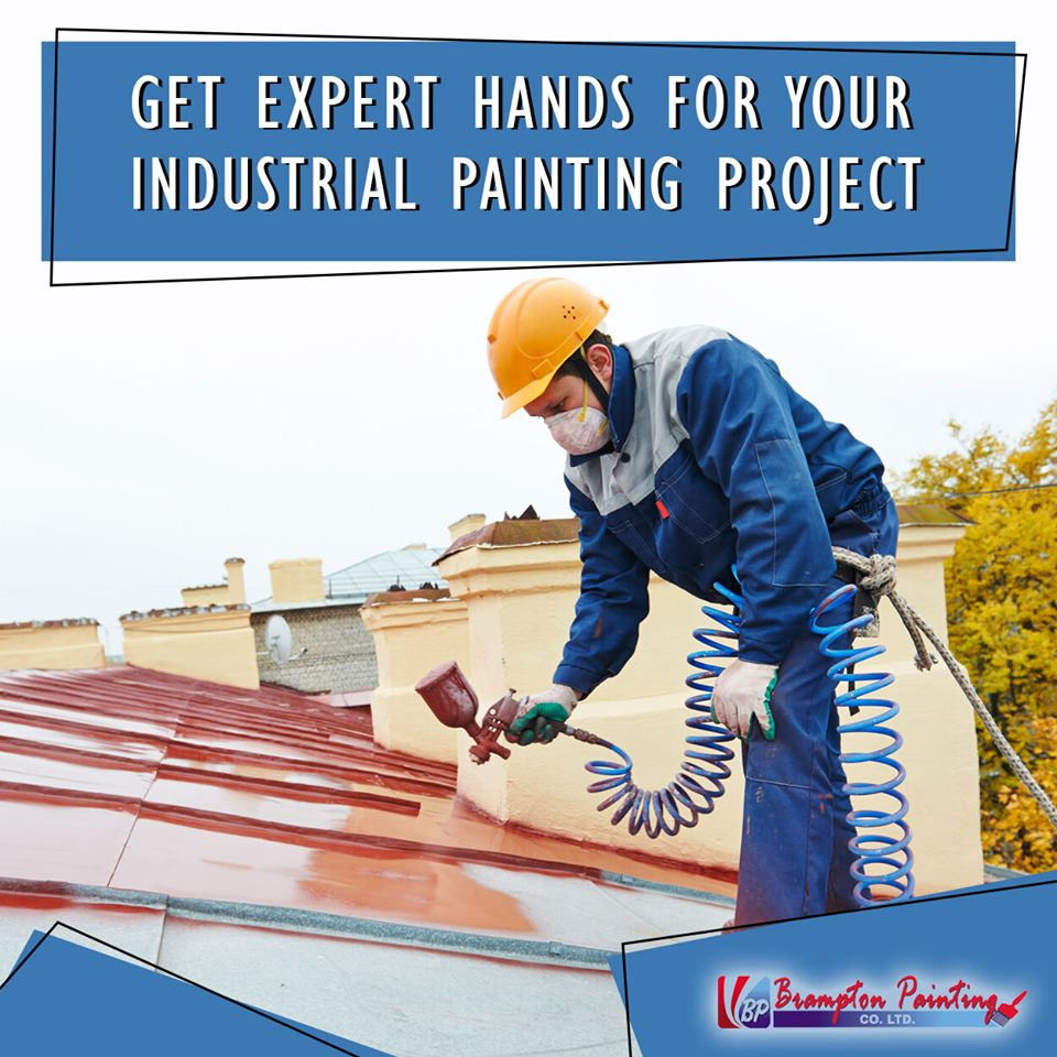 Different Types of Industrial Painting Methods